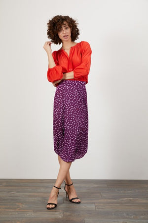 Open image in slideshow, Victoria Skirt Lady Dot