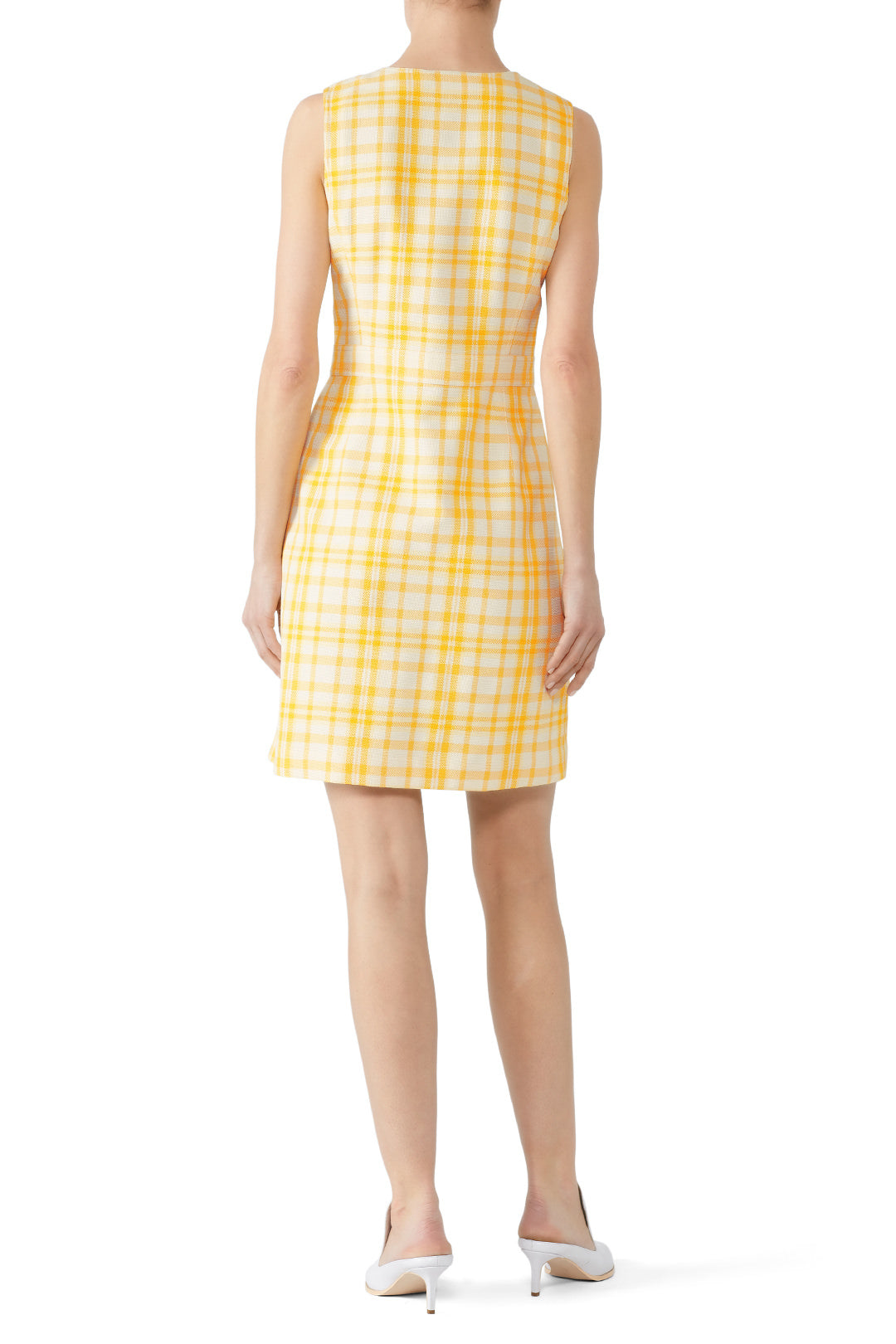 Tory Burch | Jacquard Notch Front Shift Dress