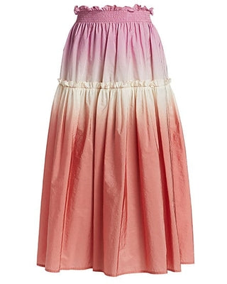 Sea | Zanna Pink Tie-Dye Skirt