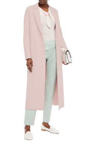 Open image in slideshow, Harris Wharf London | Pink Studded Coat