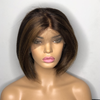 Lace Front Bob Wig Custom colored as Pictured Next Day Shipping Available - Kafuné hair (Growing Upscale Hair LLC)