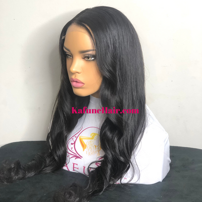"18"" Closure HD Lace Wig Next Day Shipping Available - Kafuné hair (Growing Upscale Hair LLC)"