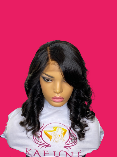 African American Unrelaxed hair Full Lace Wig - Kafuné hair (Growing Upscale Hair LLC)