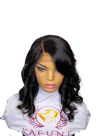 African American Unrelaxed Lace Front Wig - Kafuné hair (Growing Upscale Hair LLC)