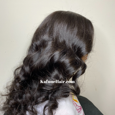 "16"" Extra Deep Lace Front Wig SMALL CAP High Quality Virgin Cambodian Body wave hair - Next Day Shipping Available - Kafuné hair (Growing Upscale Hair LLC)"