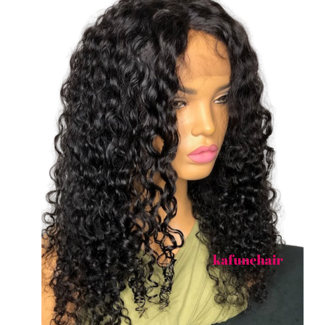 "16"" Deep Curly Full Lace Wig Small Cap Size- Next Day Shipping"