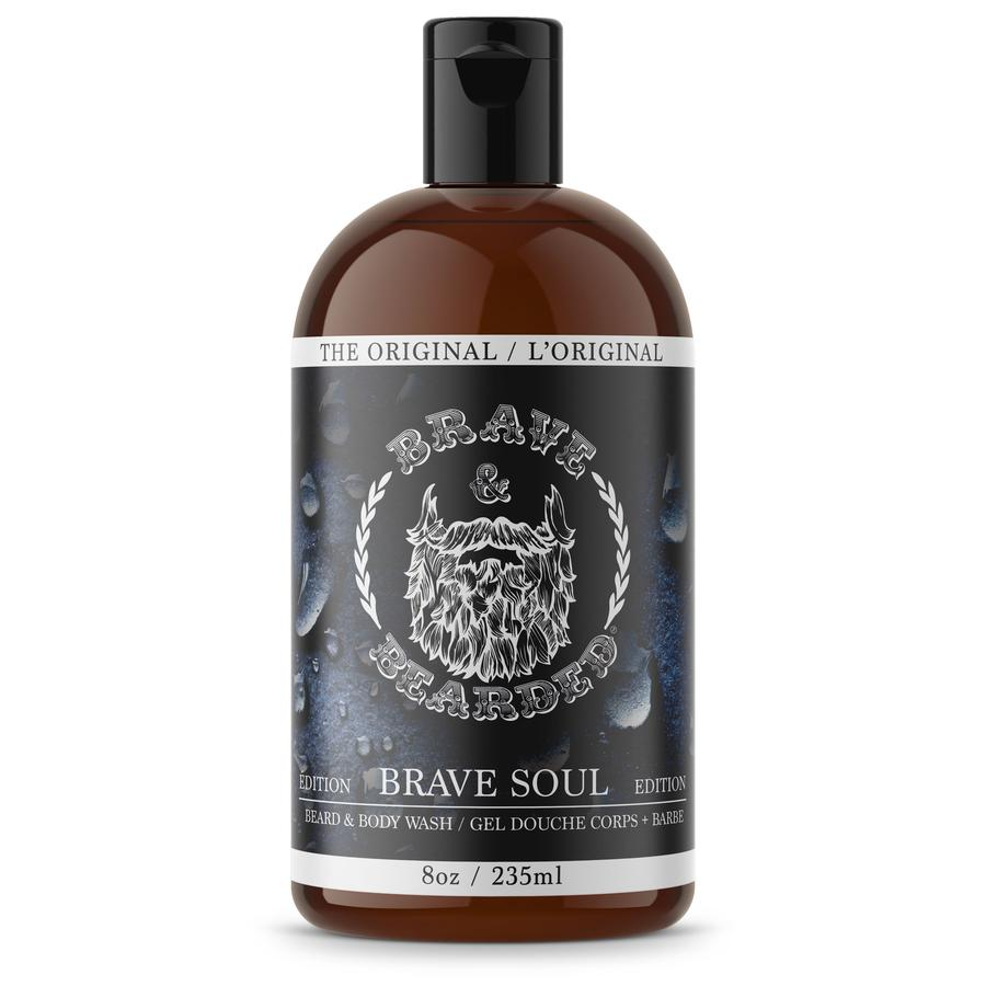 GEL DOUCHE CORPS ET BARBE BRAVE & BEARDED visage et barbe Brave & Bearded