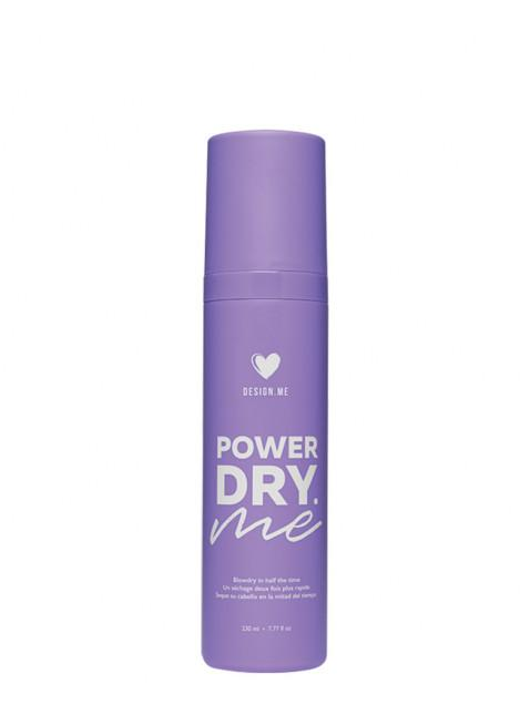 spray séchage rapide Powerdry.ME Cheveux DESIGN.ME