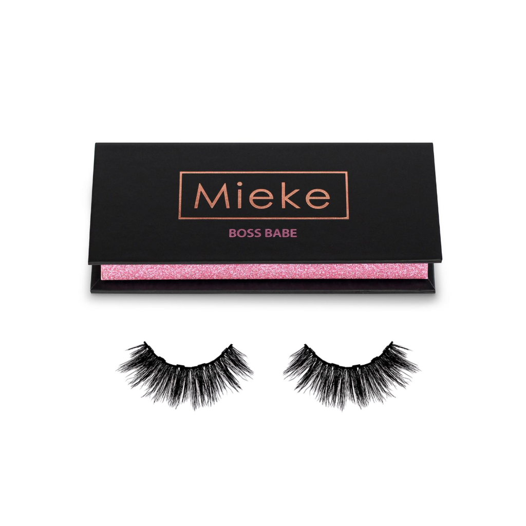 Boss Babe magnetic lashes outside box - Mieke Lashes