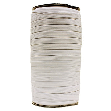 "3/4"" Elastic White(125M/Roll)"