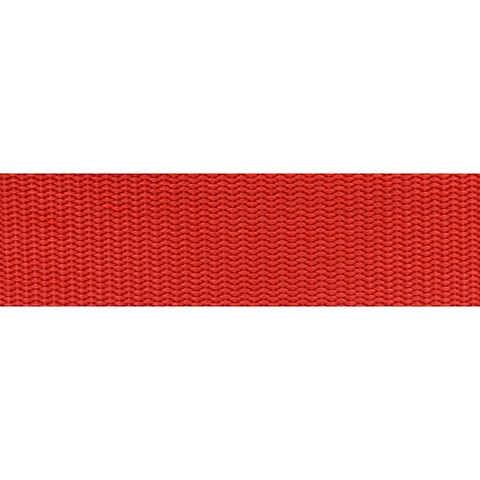 "1"" Heavy Duty Nylon Webbing RED"