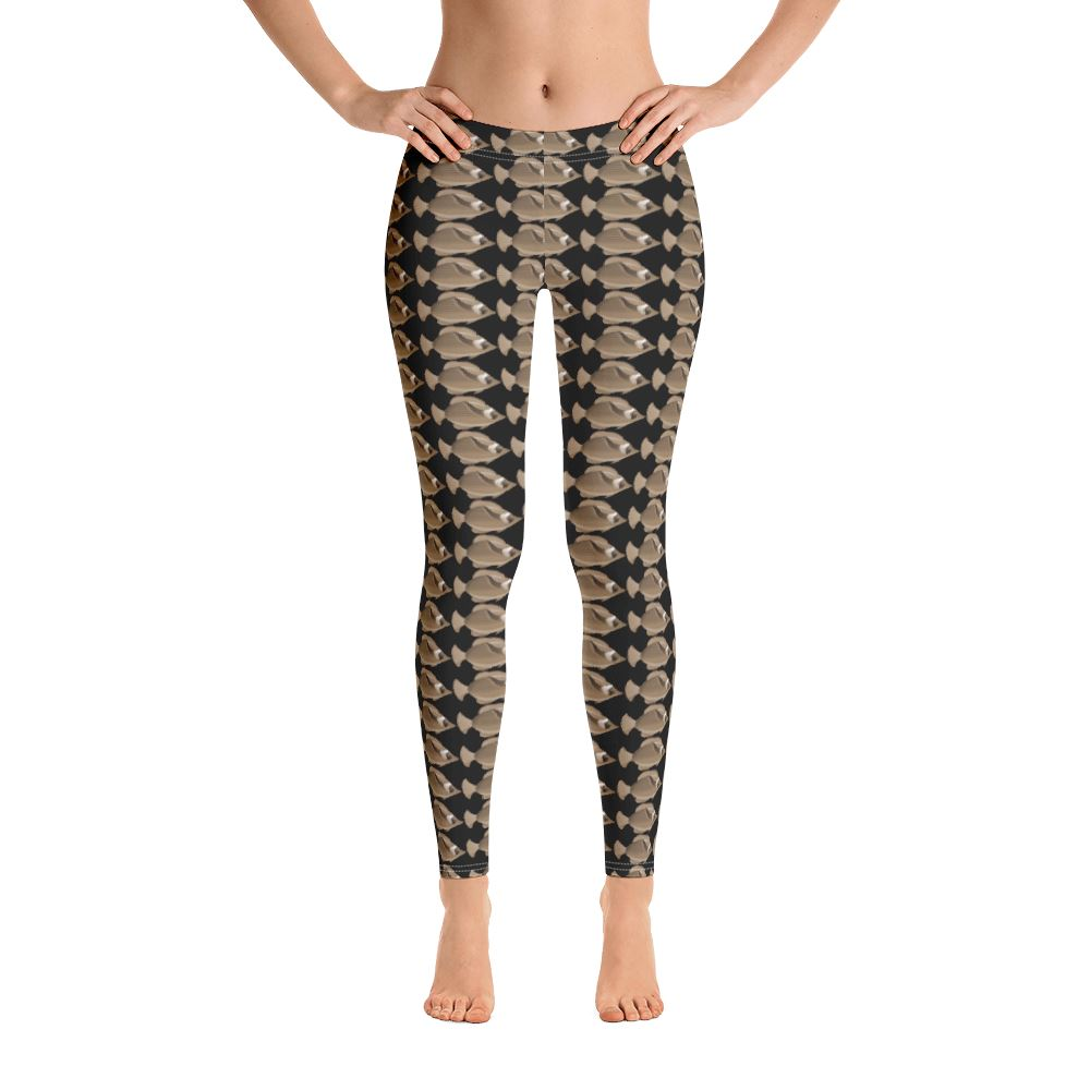 All-Over Print High Waist Leggings - For Her Fitness