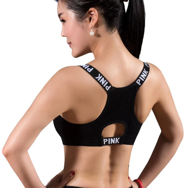 Cropped Yoga Fitness Bra - For Her Fitness