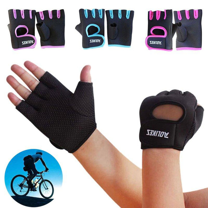 Half Finger Gloves - For Her Fitness