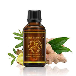Lymphatic Ginger Massage Oil - For Her Fitness