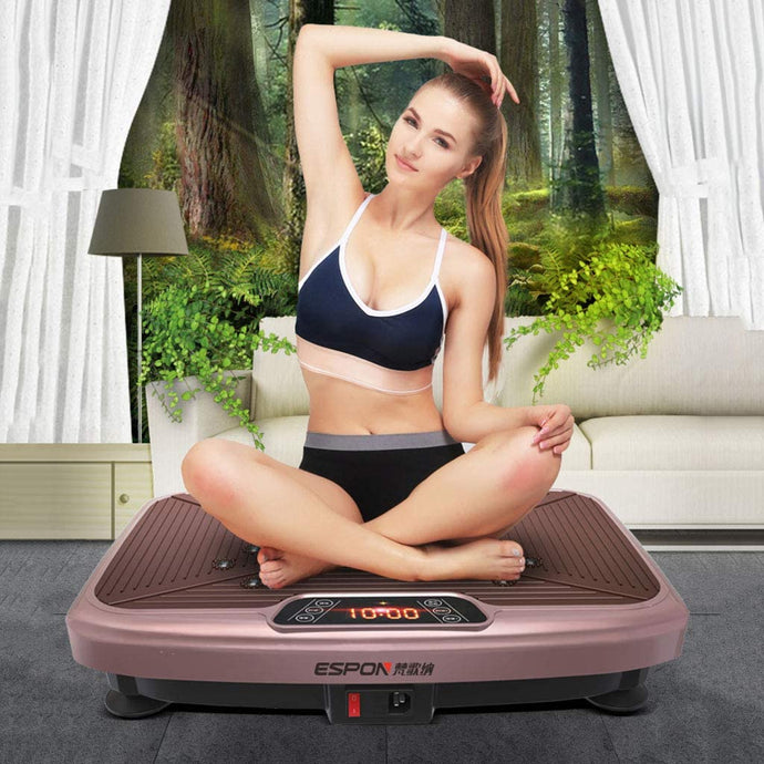 Platefit-Whole Body Vibration Plate - For Her Fitness