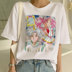 T Shirt Women Harajuku Short Sleeve - For Her Fitness