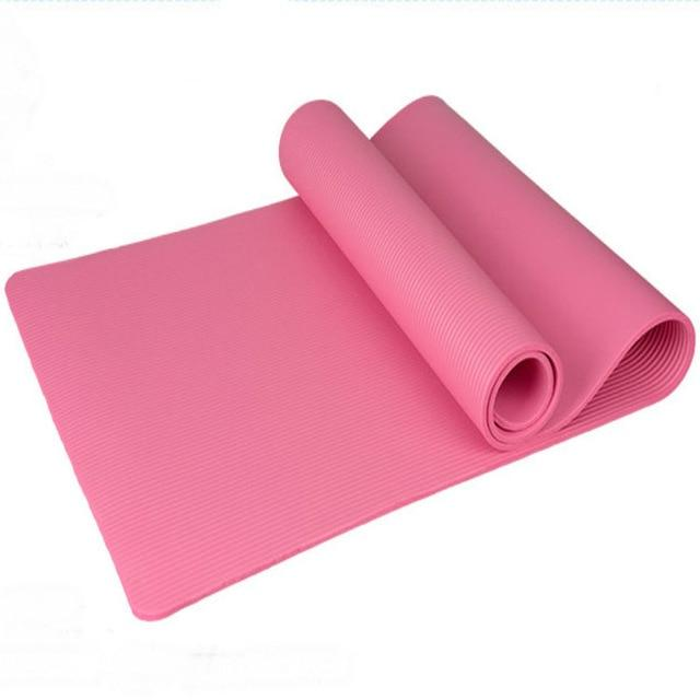 Thick Mat For Yoga - For Her Fitness
