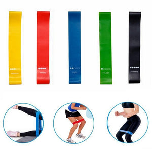 Unisex Workout And Strengthening Resistance Elastic Pull Rope Bands - For Her Fitness