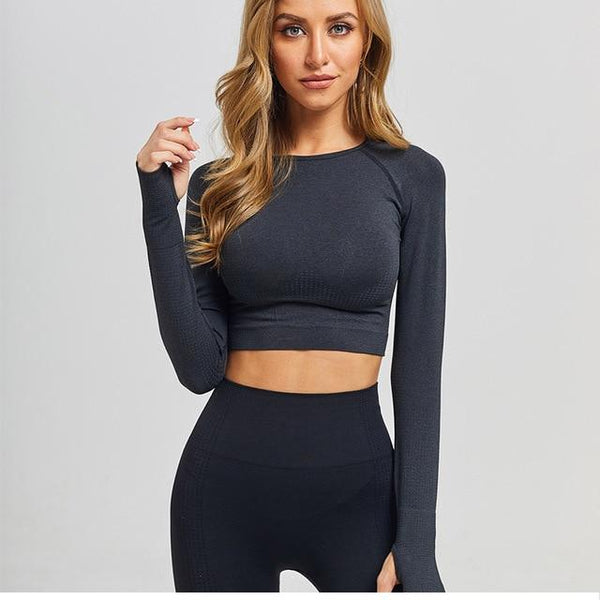 Yoga Crop Top - For Her Fitness