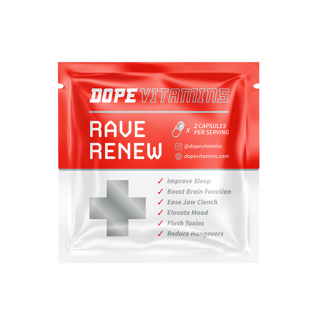 Dope Rave Renew Packs