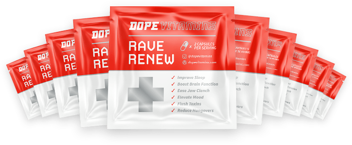 10 sample packets of Rave Renew