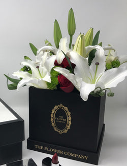 Lillies & Roses- Classic Cubo