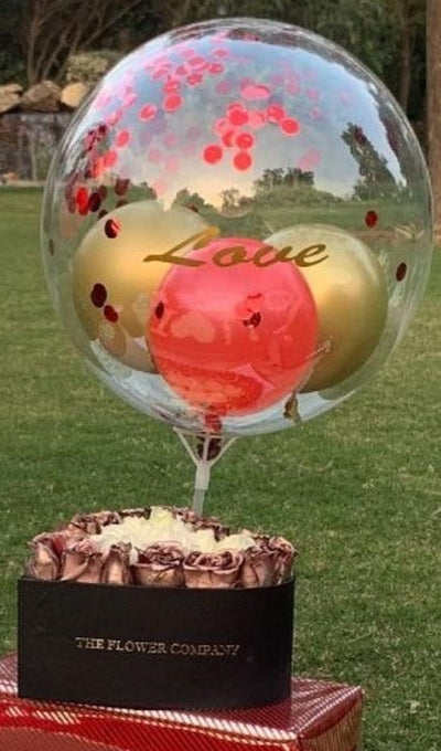 Petite Heart with Love Balloon