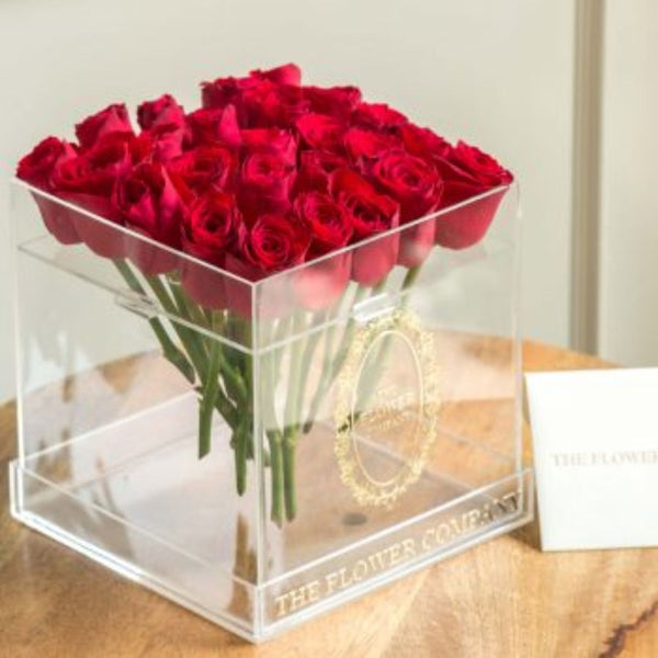 Roses – Crystal Cubo