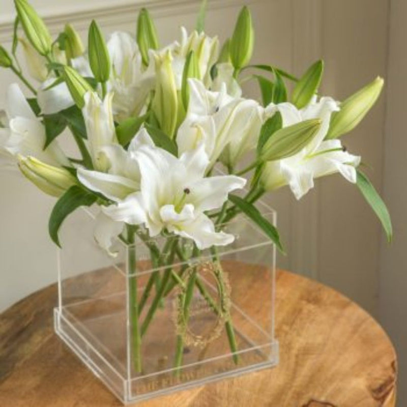Lilies – Crystal Cubo