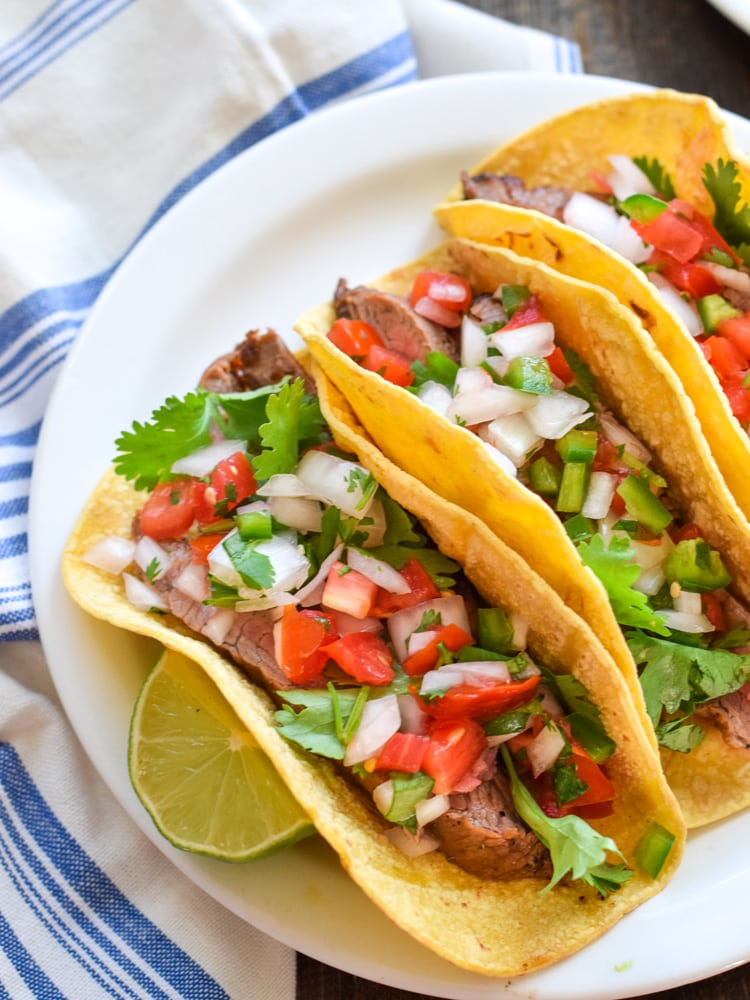 Steak Tacos For The Family!