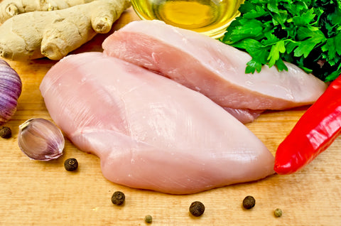 Chicken Boneless Breast - Bulk pack ($4.5/lb)