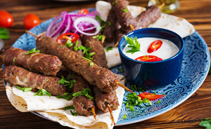 Seekh Kabab - Marinated Ground meat (per 2 Lbs)