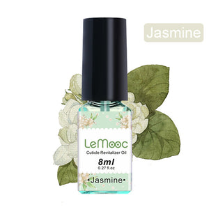 8ml Nail Cuticle Oil Transparent Revitalizer Nutrition Cuticle Oil Flower Flavor Nail Care Nail Treatment Tool Manicure for nail