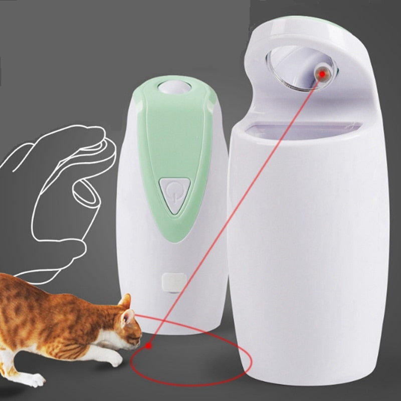 Cat Electric Interactive LED Light Toy