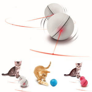 Cat Toys LED Laser Red Light Electronic Rolling Balls  Keep Your Cat  Busy