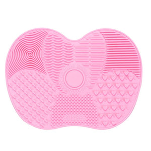 1PC Silicone Makeup brush cleaner Pad Make Up Washing Brush Gel Cleaning Mat Hand Tool Foundation Makeup Brush Scrubber Board