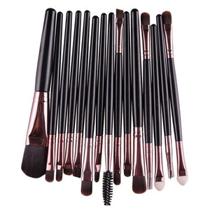 MAANGE 18/15pcs Makeup Brushes set profesional Foundation Blusher Eyeshadow Lips Make up Brush Cosmetic Set Kit pincel maquiagem
