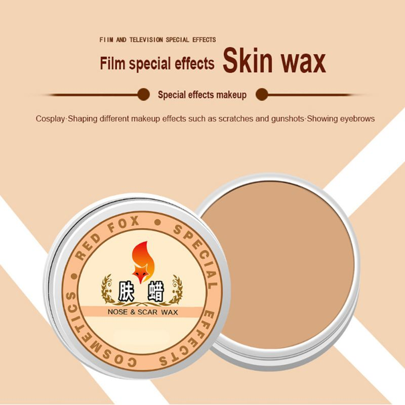 Halloween Party Decoration Special Effects Makeup Drama Wax Fake Scars Blood Skin Fake Wound Scar Wax Cosplay Special Costume Ma