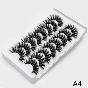 SEXYSHEEP 2/8/20 pairs 15-20mm natural 3D false eyelashes fake lashes makeup kit Mink Lashes extension mink eyelashes maquiagem