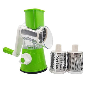 Manual Vegetable Cutter Slicer Multifunctional Round Mandoline Slicer Potato Cheese Kitchen Gadgets Kitchen Accessories Cooking