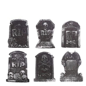 Halloween Foam Tombstone Decoration Haunted House Stone Grisly Props Party Decor Skeleton Tombstone Yard Decoration