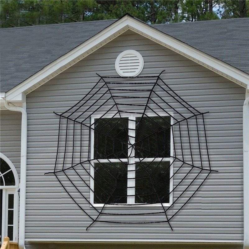 3 Size Giant Stretchy SpiderWeb Halloween Cobweb Terror Party Decoration Bar Haunted House Halloween Spiders Web Halloween Decor
