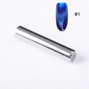 12 Styles Cat Eye Gel Magnetic Board Thick Strong Magnet Stick for UV Gel Polish Manicure Nail Art Tool