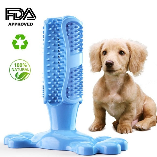 Pets Toothbrush Teeth Cleaning Chew Toy