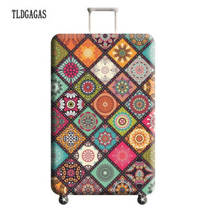 TLDGAGAS Travel Suitcase Protective Cover Luggage Case Travel Accessories Elastic Luggage Dust Cover Apply to 18''-32'' Suitcase