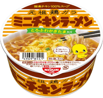 Chicken Ramen noodles Bowl mini 38g×12