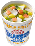 Cup Noodles seafood 75g×12 with AKIBA KING mega box