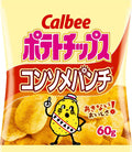 Calbee Potato Chips Consomme punch flavor 60g×12
