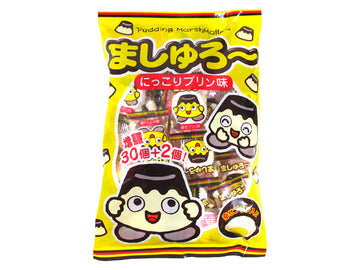 Yaokin Marshmallow Chocolate Strawberry Pudding flavor Japan